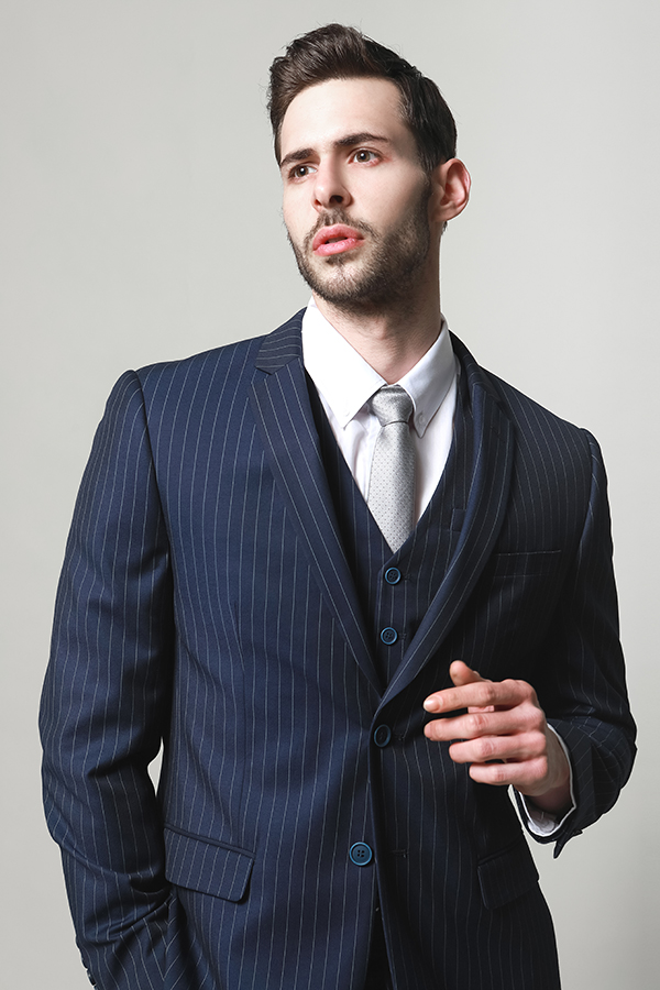 MEN'S MATCHED VEST WITH SUITS