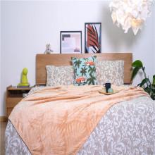 Indoor Soft Home Textiles Coral Jacquard Fleece Blankets