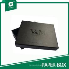 Коробка изготовленный на заказ черный матовый пятно UV подарка картона для костюмов