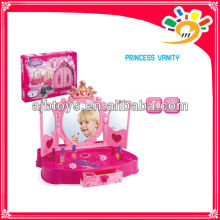 Girls Fancy Beauty Makeup Play Set Princess Vanity Makeup Toys With Light And Music
