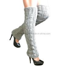 Hand Knit Leg Warmer Socks, Hand Knit Boot Cuffs