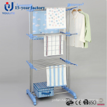 Stainless Steel Three Layer Cloth Dring Rack
