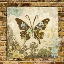 Retro Butterfly Canvas Painting Nuevos productos calientes para 2015