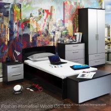 Conjunto de móveis de quarto de dormitório da escola econômica (HF-EY08292)