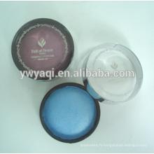 Poudre compacte récipient imperméable à l'eau maquillage poudre compacte