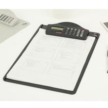 Выдвиженческий подарок для клипборд с калькулятором, доска зажима Oi11020