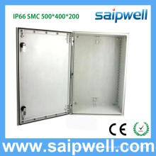 2014 saip new IP66 500 * 400 * 200 SMC boîte de jonction boîtier électrique étanche SP-SMC-504020