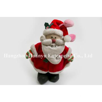 Factory Supply of Chindren Stuffed Plush Santa Toys