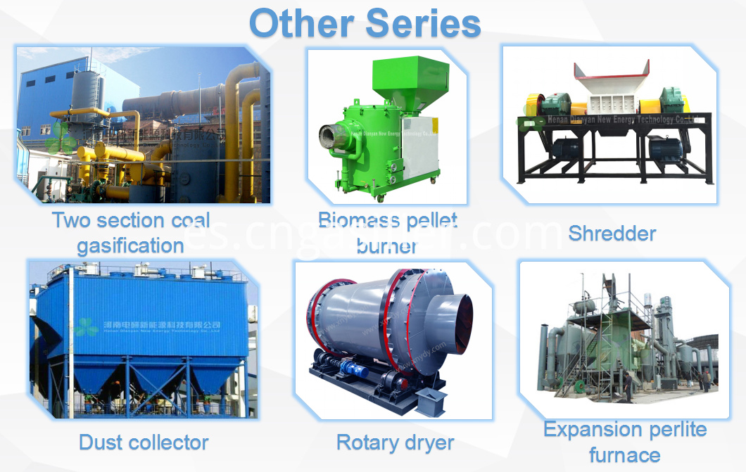 rice hull gasifier