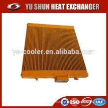 Compresor de tornillo refrigerador de aceite / enfriador de aceite para compresor de tornillo