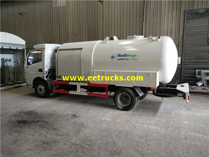 6000 Litres LPG Dispensing Tanker Trucks