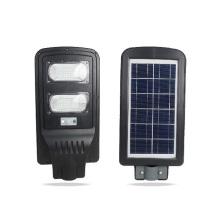 Luz de rua posta inteligente integrada solar da inundação