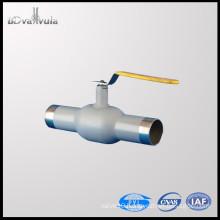PYL Welding Ball Valve Oil Gas CS RPTFE Ball Valve PN25 PN40 DN15-300