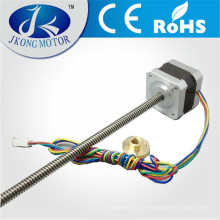 3D printer linear stepper motor , 42mm*42mm*34mm, Tr8, pitch2mm with CE and ROHS