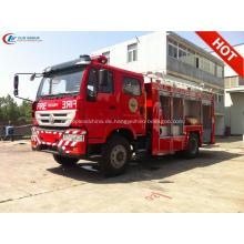 Export nach Philippinen SINOTRUCK Water Foam Fire Truck