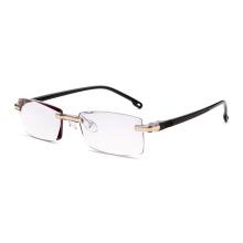 fancy beautiful rimless optical glasses frames