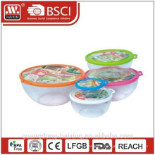 Plastique rond alimentaire Container(2.2L)