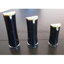 Бутылка Лосьон насоса пресс 15 мл 30 мл 50 мл черный радиан форму