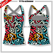 OEM Outdoor Sports Round Neck Wholesale Sexy Women Tank Tops