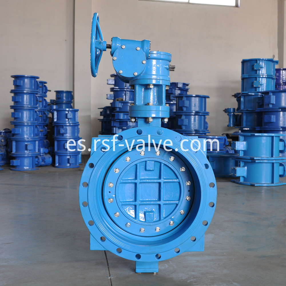 Double Eccentric Flange Butterfly Valve 3