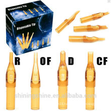 wholesale yellow Color Disposable Tattoo Tips