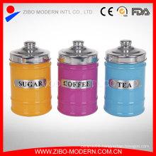 Hot Sale Small Decorative Glass Candy Jars Tea Jar