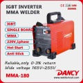 ZX7-180 a dc MMA inverter arc soudeur machine