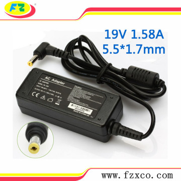 Reemplazo 19V 1.58A Asus Laptop AC Adapter