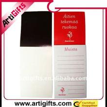 2011 magnetic memo pad with printed logo