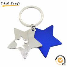 Прекрасный Звезда Форма Металл Брелок (Y02620)