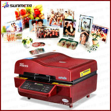 Hot sale 3D sublimation machine for printing curved shaped products