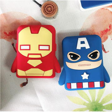 Cool Ultraman Mobile Powerbank Cover Soft Powerbank Case
