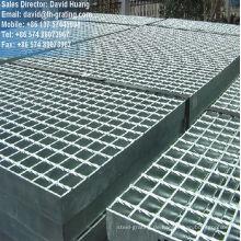 Verzinktem Stahl Gitter Bretter für Boden