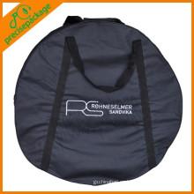 Logo Impresión de poliéster reutilizable bolsa de repuesto de neumáticos fuertes
