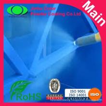 Epoxy polyester powder coating for spray fan