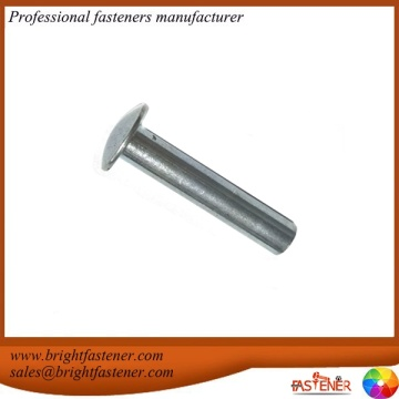 DIN124 Steel Round Head Rivet