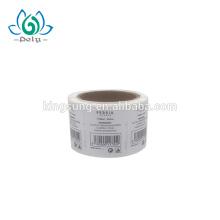 waterproof paper qr code label sticker