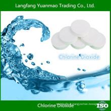 Matières premières chimiques / Tablette de dioxyde de chlore pour purification de l'eau / Fabriqué en Chine