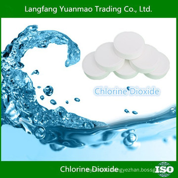 Chemical Raw Materials/Chlorine Dioxide Tablet for water purified/Made in China