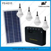 Iluminação Home Solar Recarregável com Carregamento de Telefone (PS-K015)