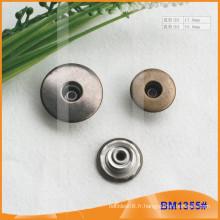 Bouton en métal, boutons Jean personnalisés BM1355