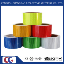 Retro Safety Warning Adhesive PVC Reflective Tape Honeycomb Marking