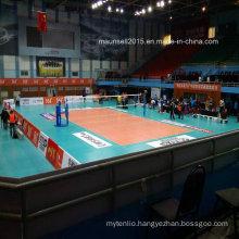 Cheap Indoor/Outdoor PVC Interlocking/Roll / Tile Volleyball Flooring