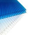 4mm to 20mm thickness  price cheap light-transmitting Polycarbonate honeycomb core board plastic sheet panel from china