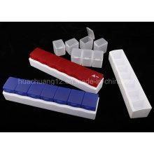 2015 Nova caixa de comprimidos plásticos para medicamentos Plb21
