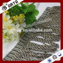 2016 Stock Product Great Sale for Home Textile Sofa of Gold Line Bullion Trimming Fringe