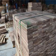 Nature Walnut Log Used on Raw Wood Floor
