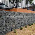 5мм вертикальный провод каменной стены загородки барьера, горячая окунутая гальванизированная сетка gabion для сбывания