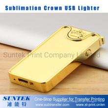Subliamtion Blank Crown USB Lighter