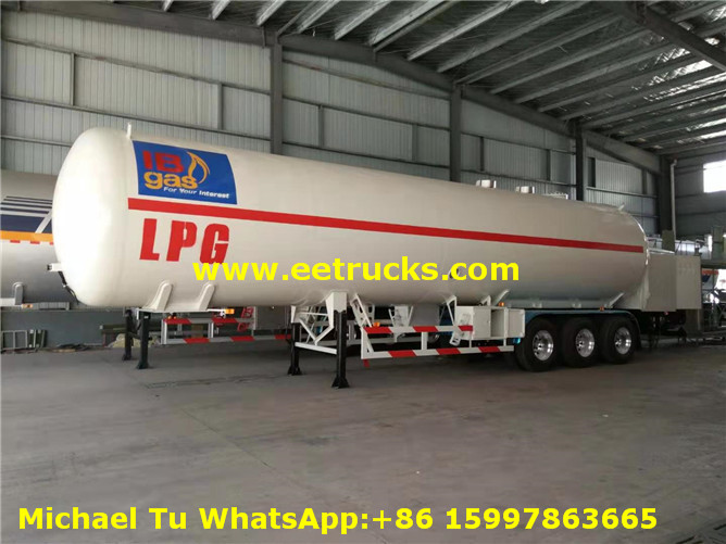 60m3 LPG Trailer with pump